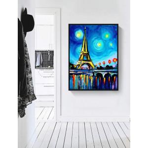 Картина Париж акварелью №614