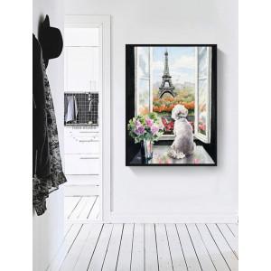 Картина Вид на Париж №615