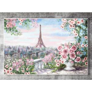 Картина Пейзаж Парижа №625