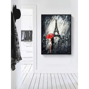 Картина Дождь в париже №628
