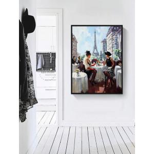 Картина Обед в Париже №630
