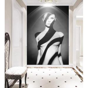 Картина Женщина. Черно-белая №639
