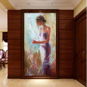 Картина Женщина №641