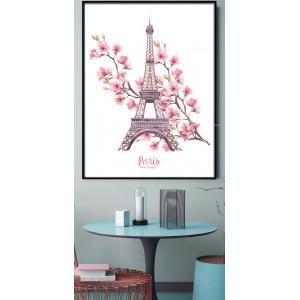 Картина Эйфелева башня. Франция №643