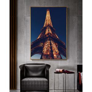 Картина Эйфелева башня в огнях №646