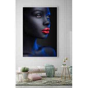 Картина Красные губы №649