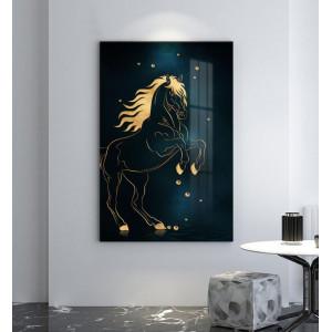 Картина Силуэт лошади №663