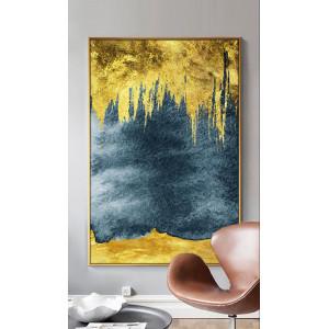 Картина Золотая абстракция №674