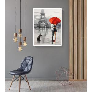 Картина Любовь в Париже №675