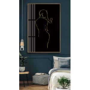 Картина Силуэт на черном фоне №688