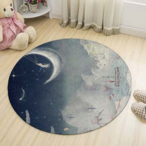 Ковер в детскую Лунный пейзаж
