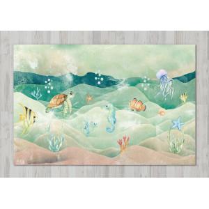 Ковер в детскую Морское дно