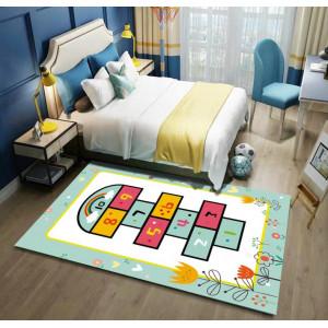 Детский ковер классики с цветами
