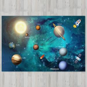 Ковер в детскую Солнечная система