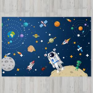 Ковер в детскую Космонавт на орбите