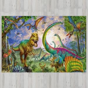 Ковер в детскую Красивые динозавры