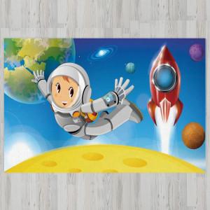Ковер в детскую Космонавт в невесомости