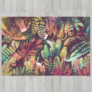Ковер в детскую Животные в джунглях