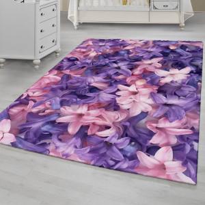 Ковер Фиолетово-розовые лилии