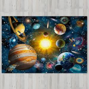 Ковер в детскую Планеты вокруг солнца