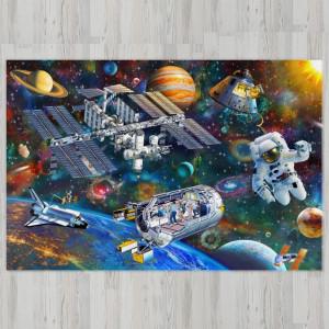 Ковер в детскую Орбитальная станция