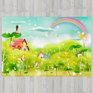 Ковер в детскую Деревня в траве