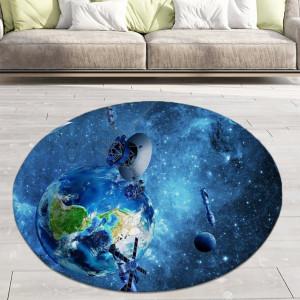 Ковер в детскую Спутники вокруг Земли