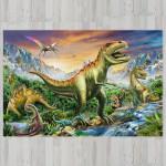 Ковер в детскую Динозавры у реки