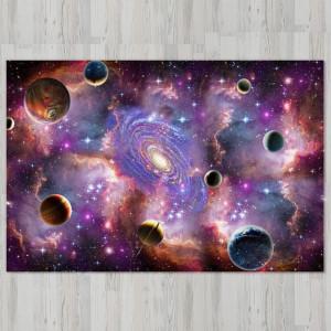Ковер в детскую Галактика в туманности