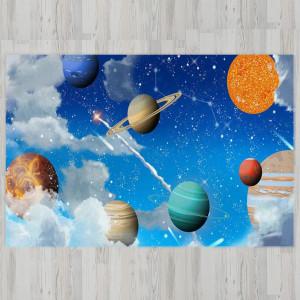 Ковер в детскую Космическое небо