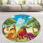 Ковер в детскую Веселые динозавры