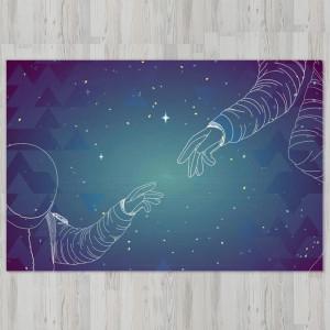 Ковер в детскую Сотворение космонавта