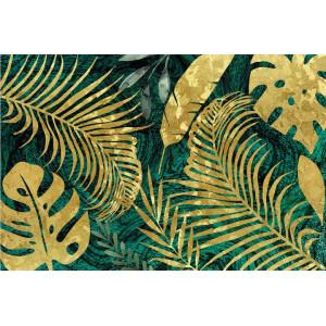 Ковер Золотые растения