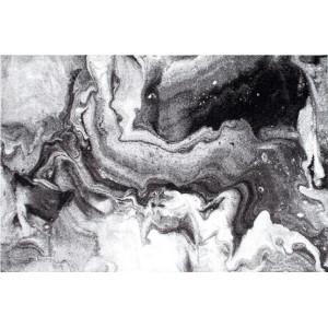 Ковер Черно-белый мрамор