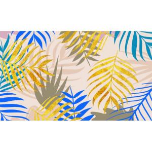Ковер Сине-желтые цветы