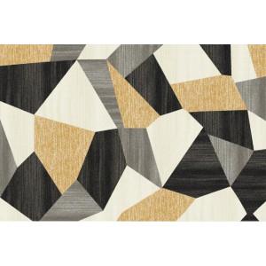 Ковер Серо-коричневые полигоны №400
