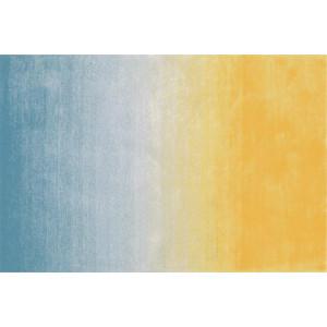 Ковер Современный сине-желтый ковер
