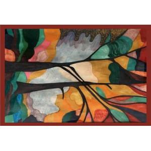 Ковер Деревья в красках