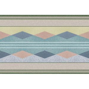Ковер Геометрический ковер с ромбами №417