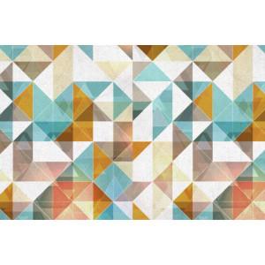 Ковер современный разноцветный №460