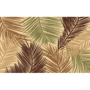 Ковер с листьями пальмы №461