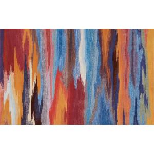 Ковер современный разноцветный №493