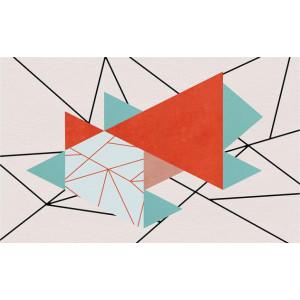Ковер геометрический узор №501