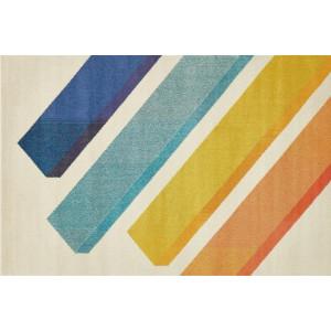 Ковер современный разноцветный №506