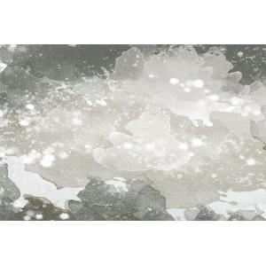Ковер Мрамор серо-белый №531