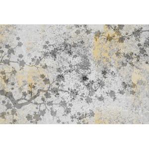 Ковер Лофт с цветочками №546